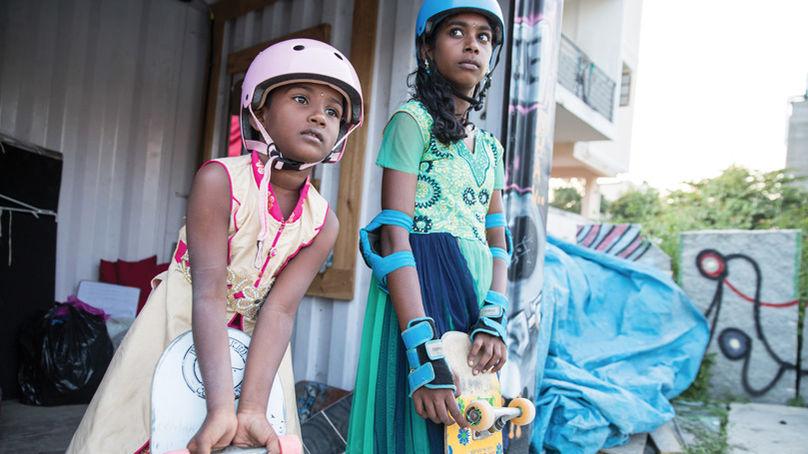 Girls Skate India, Vans