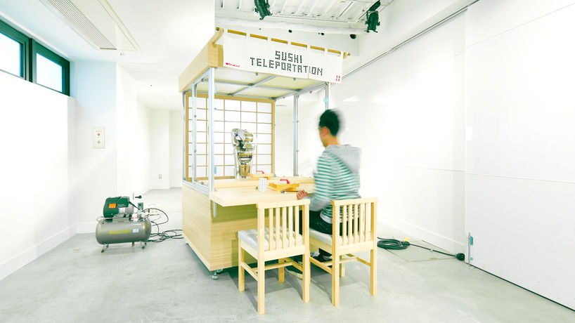 Sushi Teleportation by Open Meals, Japan