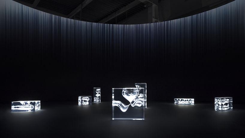 Forms of Movement by Nendo, Milan Salone 2018. Photography by Takumi Ota