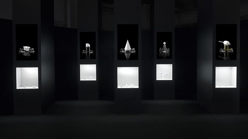 Forms of Movement by Nendo, Milan Salone 2018.Photography by Takumi Ota