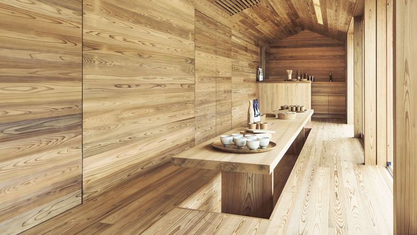 The Yoshino Cedar House, Office of Healthy Tourism, Airbnb