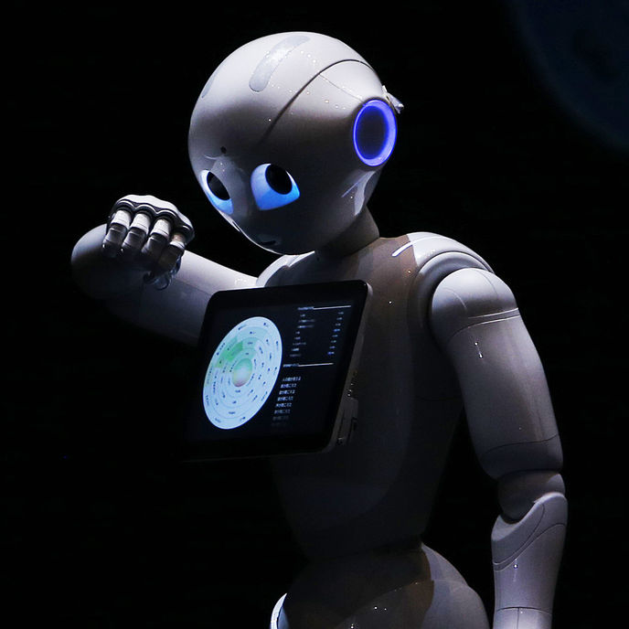 Pepper by Softbank Robotics