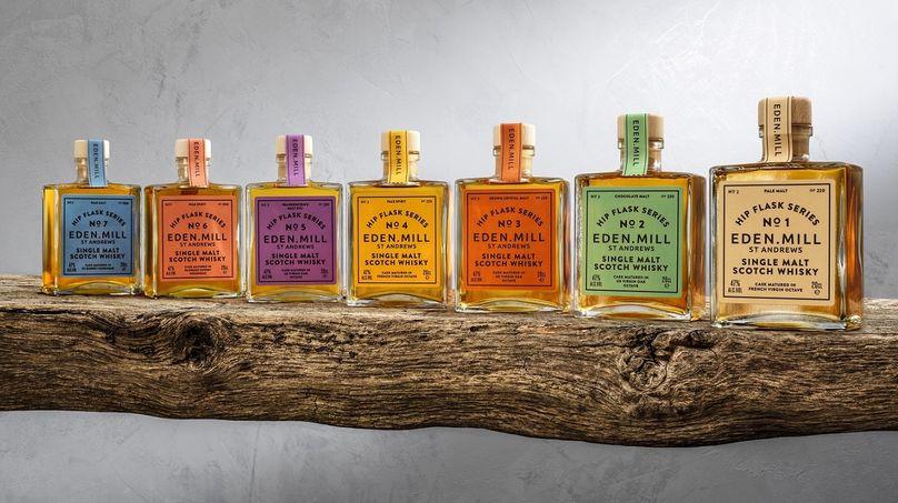 Hip Flask Series, Eden Mill Whisky, Scotland, UK