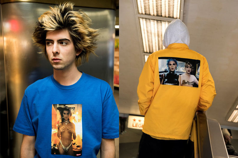 Supreme and Nan Goldin collection