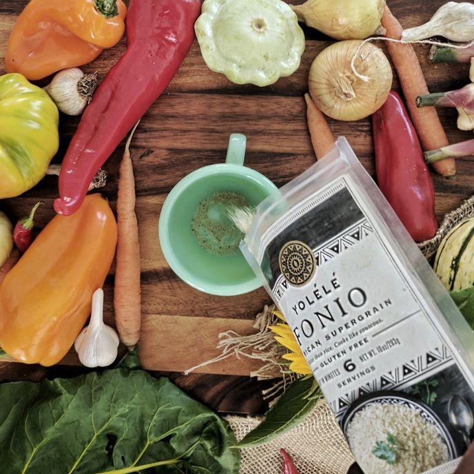 Fonio grain, Yolélé Foods