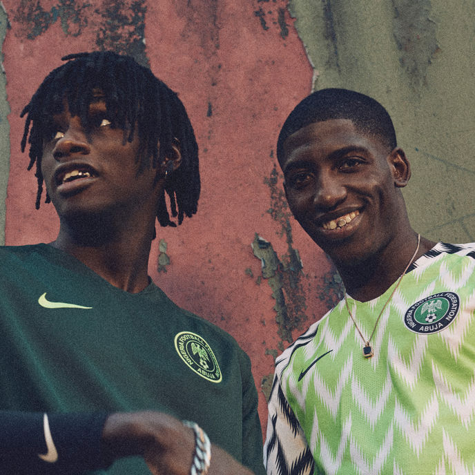 Nigeria 2018 National Football Team collection by Nike