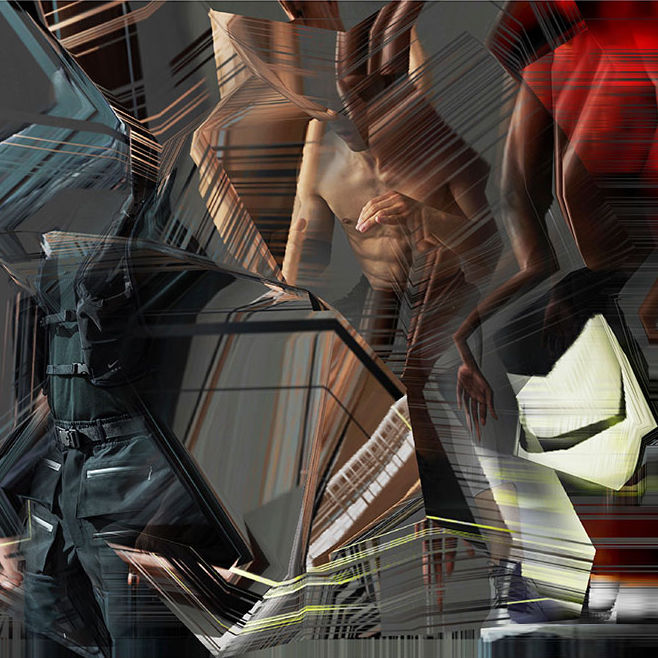 Nike x MMW collection, US. Images by Nick Knight.