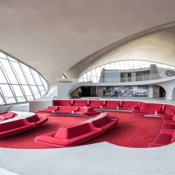 TWA Hotel, New York. Photography by Max Touhey