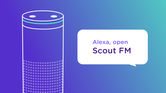 2. Scout FM offers personalised podcasts