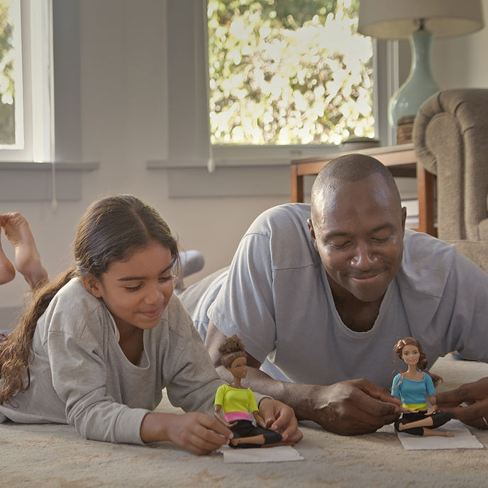 Dads Who Play Barbie by BBDO San Francisco for Mattel
