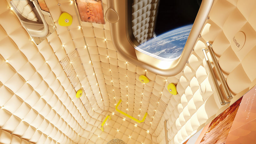 Habitation Module by Philippe Starck at Axiom Space Station, US