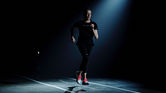 Asics' pitch black running track eliminates modern distractions