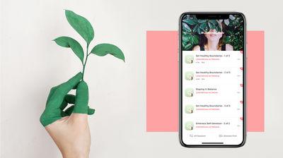Sanity & Self app by Moov