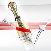 Luxury champagne for space travellers