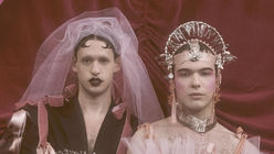 A bridal collection for non-binary couples
