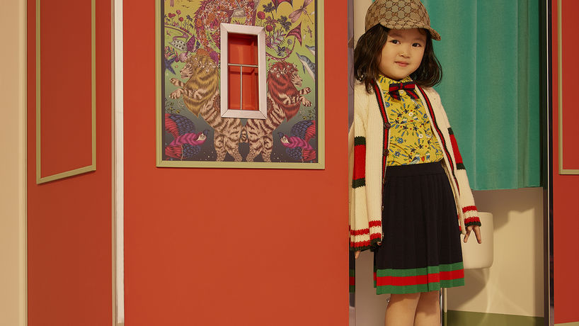 Gucci Childrenswear for Net-a-porter