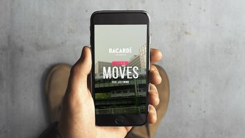 Bacardi creates an interactive music video for IGTV