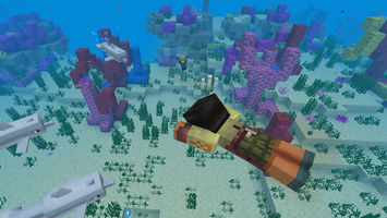 Minecraft crowdsourced coral-saving sculpture designs