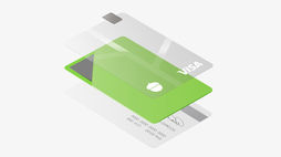 Acorns' metal debit card evokes the value of money