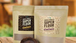 A flour made from upcycled brewing grain