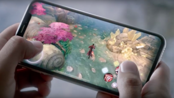Apple flaunts the gaming power of the iPhone X
