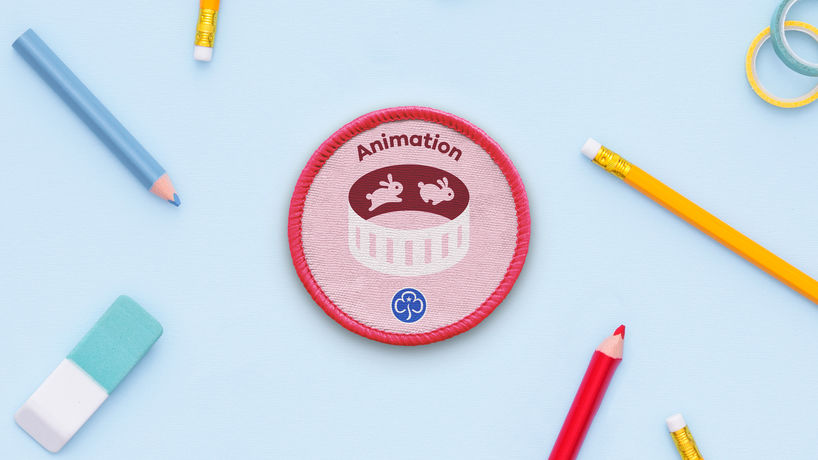 Girl Guides rebranding by Red Stone, UK