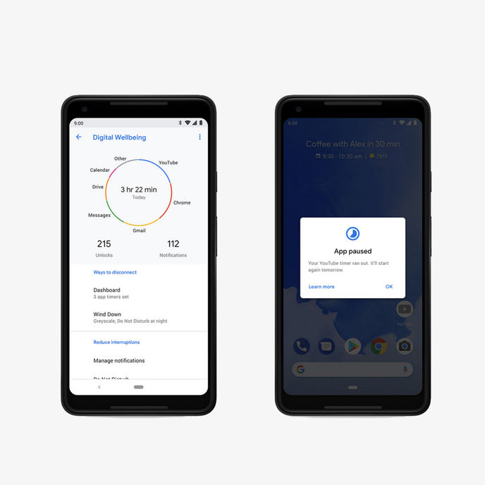 Digital Wellbeing Kit by Google