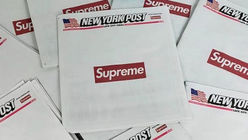 Supreme's latest collector's item is the New York Post