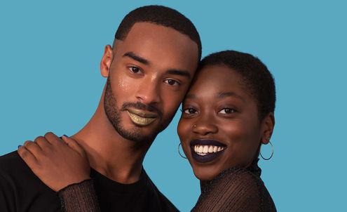 A gender-fluid make-up line inspired by and created for the LGBTQ community