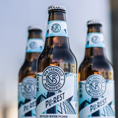 A beer made from waste water