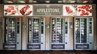 The Applestone Meat Company vending machines, New York, photography by Jennifer May