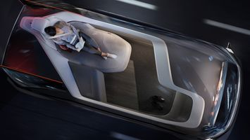 Volvo imagines the future set-up of car interiors