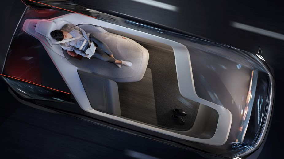 Lsn News Volvo Imagines The Future Set Up Of Car Interiors