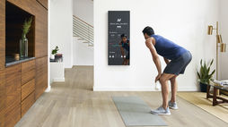 A smart mirror for guided at-home workouts