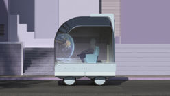 Ikea imagines the future of Spaces on Wheels