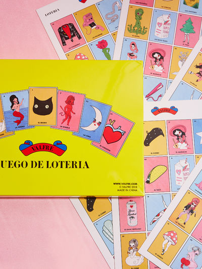 Valfre Loteria Stationary Game, Mexico