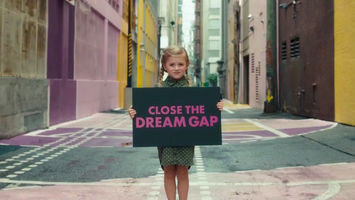Mattel encourages young girls to dream big