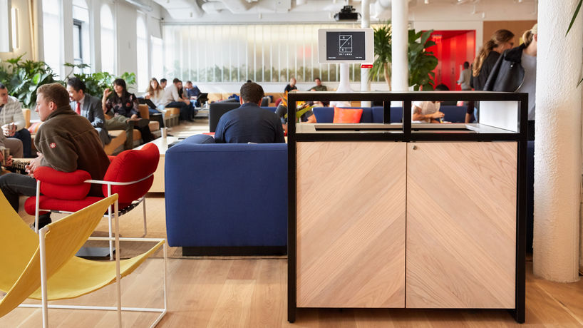 Rent the Runway drop-off service at WeWork, US