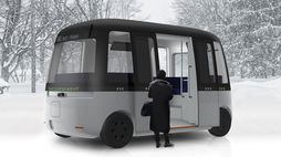 Muji is developing a line of self-driving buses