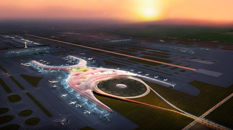 New Mexico City International Airport by Foster and Partners, Mexico City