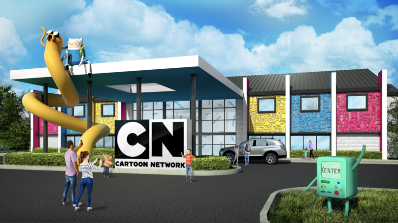 The Cartoon Network Hotel, Pennsylvania