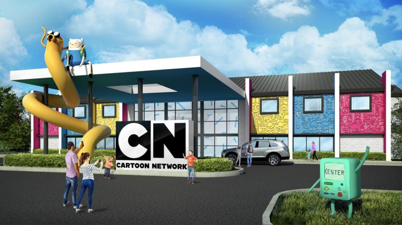 The Cartoon Network Hotel, Pennsylvania