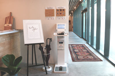 Health check kiosk in cafe, Smartfuture, Singapore