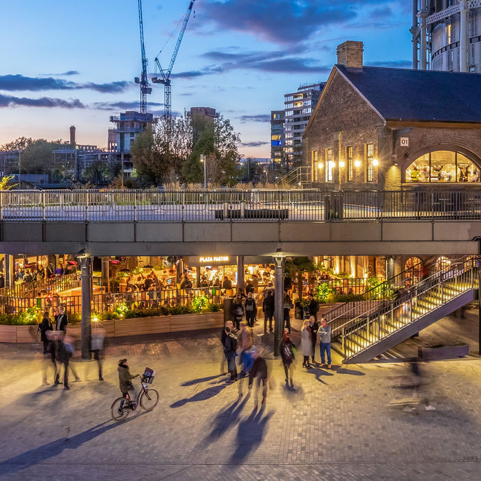 Coal Drops Yard, London. Photography by John Sturrock