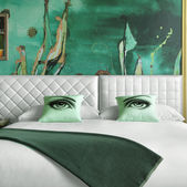 A new hotel uses colour to influence guests' moods