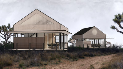 LivingHomes YB1 by Yves Béhar and Plant Prefab, California