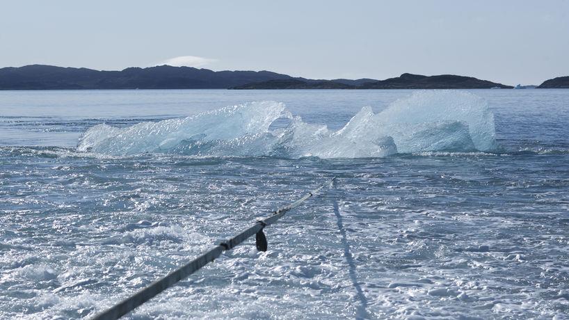 Ice Watch, photography by Joergen Chemnitz