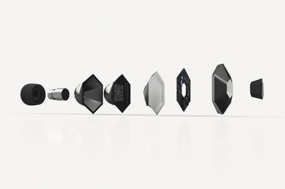 HeX earbuds by Elen Parry