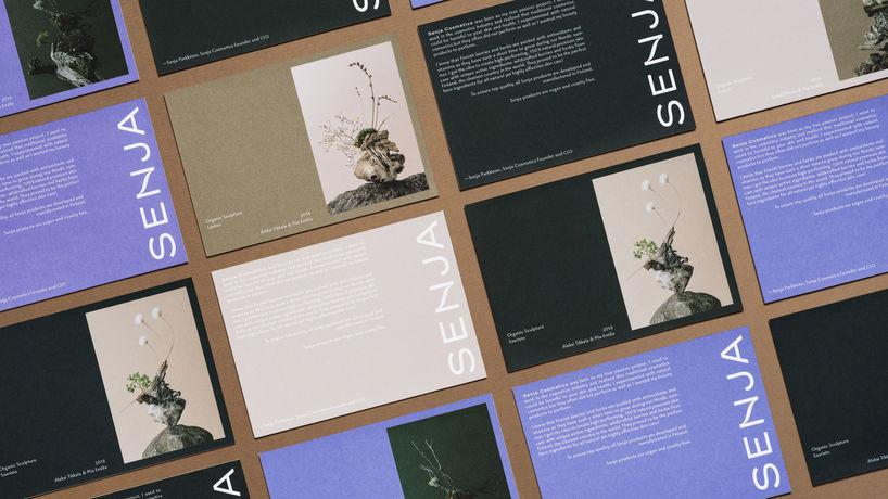 Senja Cosmetics, Finland, branding by Werklig