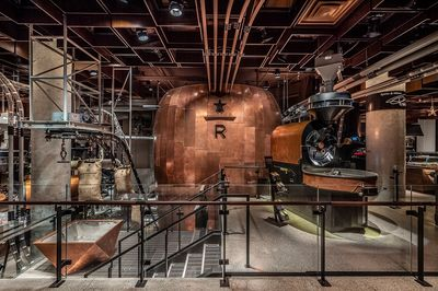 Starbucks Roastery, New York
